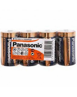 Батарейка Panasonic ALKALINE POWER D Shrink 4