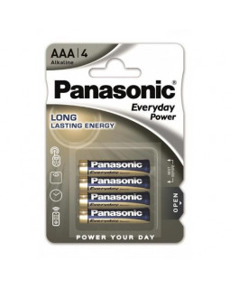 Батарейка Panasonic EVERYDAY POWER AAA BLI 4